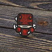 Украшения handmade. Livemaster - original item Wooden icon Daredevil. Handmade.