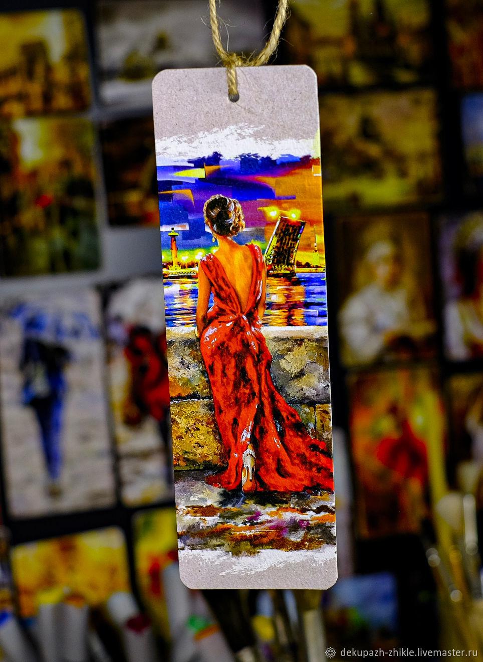 Закладка для книг  «Незнакомка», Картины, Санкт-Петербург,  Фото №1