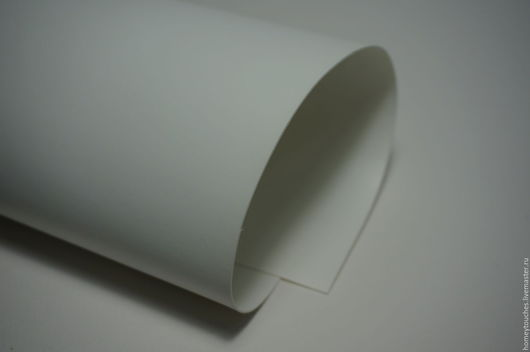 Другие виды рукоделия ручной работы. Ярмарка Мастеров - ручная работа. Купить Кожзам переплетный Синтре Вивелла Цвет Bianco Белый. Handmade.