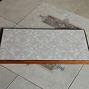 Для дома и интерьера handmade. Livemaster - original item Ceramic thermal stand on wooden platform PCT-M0000008. Handmade.