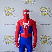 Одежда handmade. Livemaster - original item Spiderman costume with muscules. Handmade.
