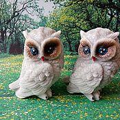 Косметика ручной работы handmade. Livemaster - original item Soap Owl With ears. Handmade.