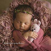 Украшения handmade. Livemaster - original item A flower crown for a photoshoot newborn. Handmade.