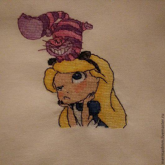 Люди, ручной работы. Ярмарка Мастеров - ручная работа. Купить Алиса в стране чудес. Handmade. Комбинированный, алиса, дисней