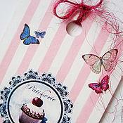 Для дома и интерьера ручной работы. Ярмарка Мастеров - ручная работа Панно-доска разделочная Вишенка на торте. Handmade.