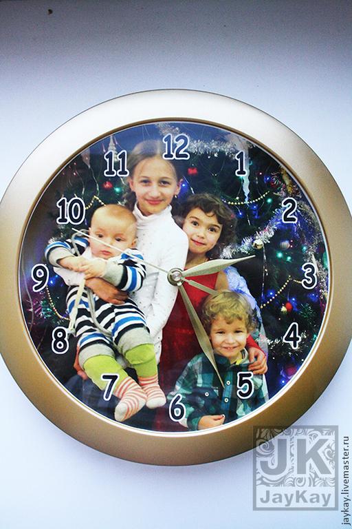 """Часы ручной работы. Ярмарка Мастеров - ручная работа. Купить Часы настенные JK """"Личный дизайн"""". Handmade. Часы"""