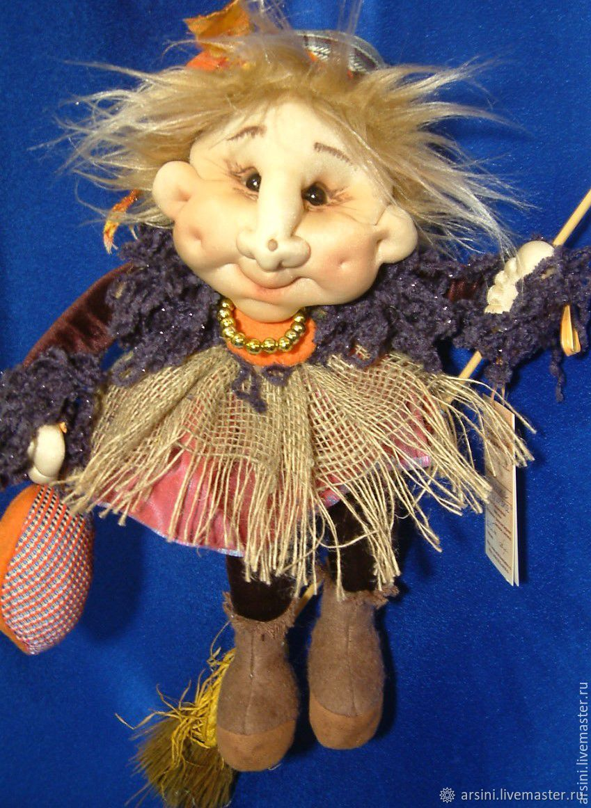 Grandma D-Gulechka, Stuffed Toys, Moscow,  Фото №1