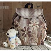 Сумки и аксессуары handmade. Livemaster - original item Backpack Japanese garden. Handmade.