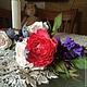 Браслеты ручной работы. Браслет на руку с розами. Татьяна Иловайская (IlovayskayaTati). Ярмарка Мастеров. Браслет на руку, ревелюр