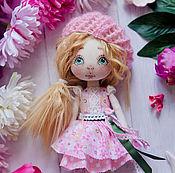 """Куклы и игрушки ручной работы. Ярмарка Мастеров - ручная работа Авторская кукла """"Розовая птичка"""". Handmade."""