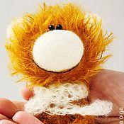 Куклы и игрушки ручной работы. Ярмарка Мастеров - ручная работа Филипп - миниатюрный мишка - подарок!. Handmade.