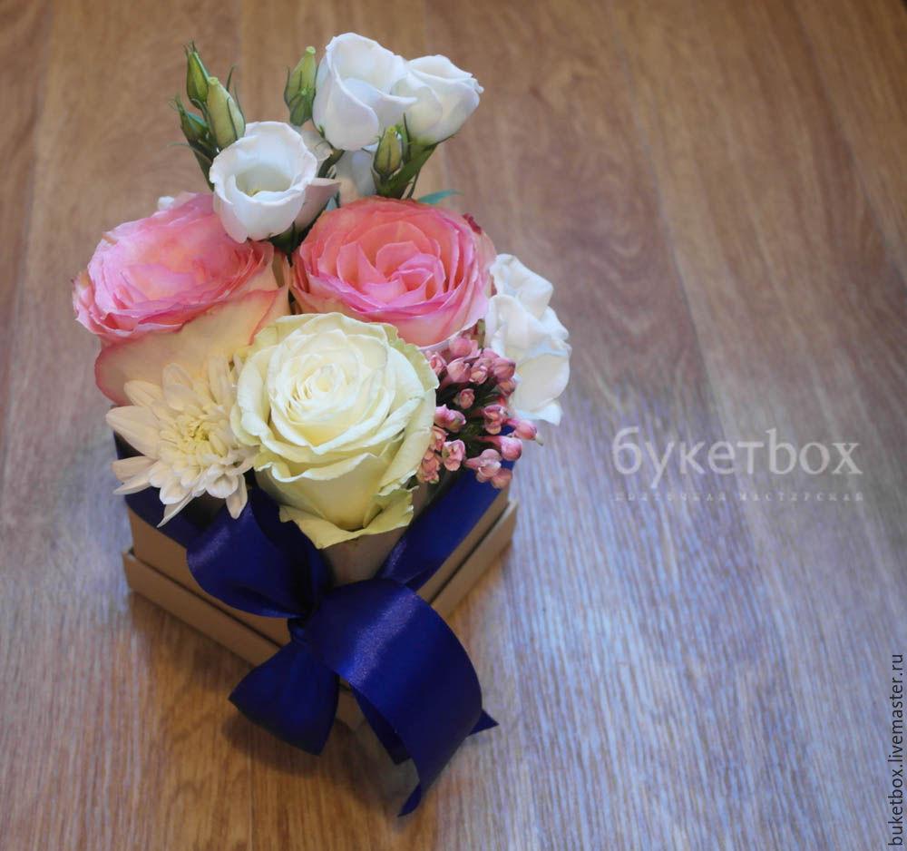 №2 Розы (Эквадор) 2 вида, лизиантус, хризантема, Букеты, Москва, Фото №1