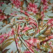 Материалы для творчества ручной работы. Ярмарка Мастеров - ручная работа Отрез ткани (210х150см), шелк искусственный. Handmade.