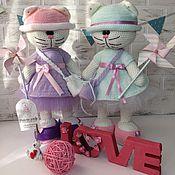 Куклы и игрушки ручной работы. Ярмарка Мастеров - ручная работа Кошечка девочка. Handmade.