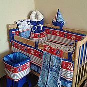 Работы для детей, ручной работы. Ярмарка Мастеров - ручная работа для новорожденного в кроватку, на выписку, в детскую. Handmade.