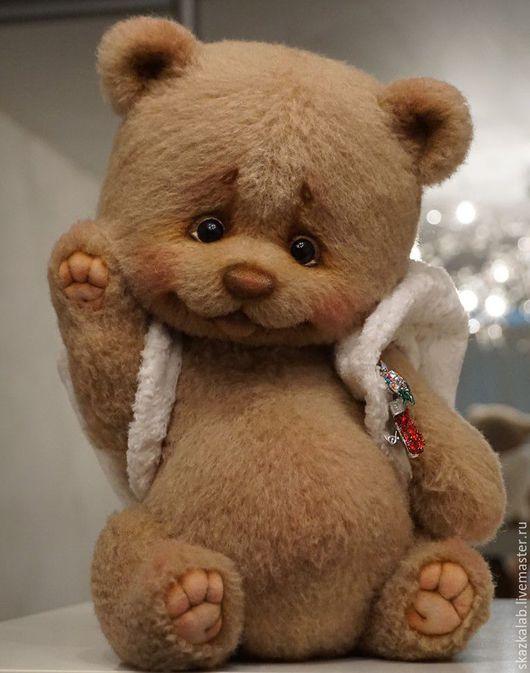 Мишки Тедди ручной работы. Ярмарка Мастеров - ручная работа. Купить Заинька. Handmade. Мишка тедди, пушистый, бамбуковое волокно