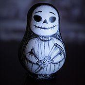 Подарки к праздникам ручной работы. Ярмарка Мастеров - ручная работа Маленькая смерть (авторская матрёшка). Handmade.