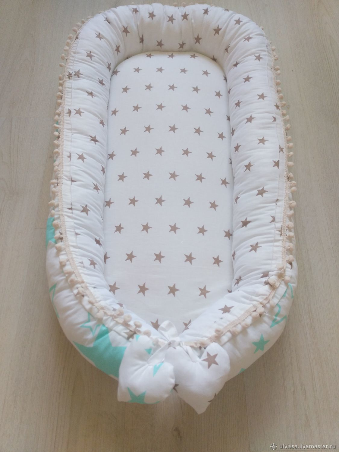 Gift to a newborn: cocoon-nest, Gift for newborn, Moscow,  Фото №1
