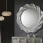 Для дома и интерьера handmade. Livemaster - original item Mirror in mosaic frame, the Sun of Florence. Handmade.