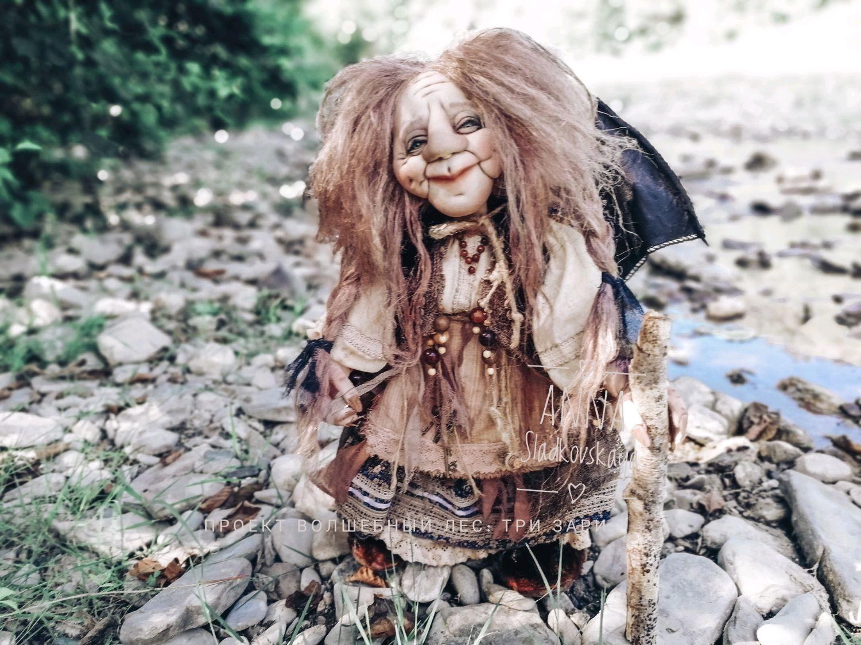 Баба-Яга, Народная кукла, Сочи,  Фото №1