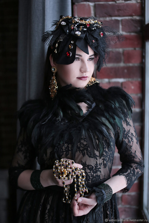 Bezeline, Earrings, Cuffs and Beads, Headband, Moscow,  Фото №1