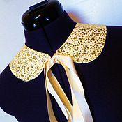 Аксессуары handmade. Livemaster - original item The collar is detachable Gjld / purch ,gold. Handmade.
