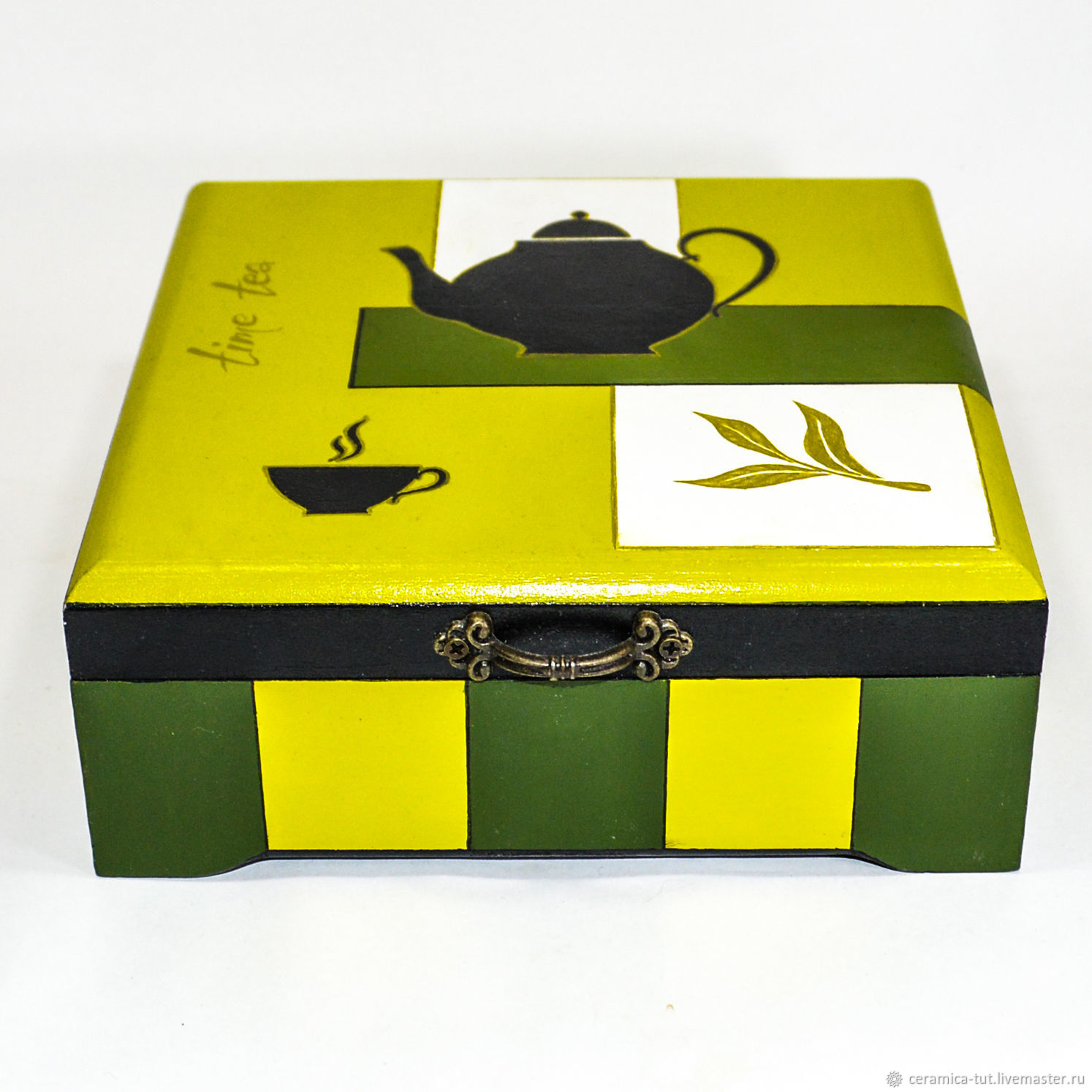 Шкатулка для чайных пакетиков, Шкатулки, Королев,  Фото №1
