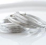 2961 Набор серебряной проволоки, Ювелирная проволока посеребренная