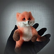 """Куклы и игрушки ручной работы. Ярмарка Мастеров - ручная работа Лисенок """"Веснушка"""".. Handmade."""