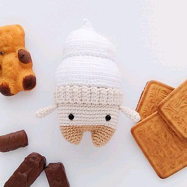 Куклы и игрушки ручной работы. Ярмарка Мастеров - ручная работа Вязаное Мороженое. Handmade.