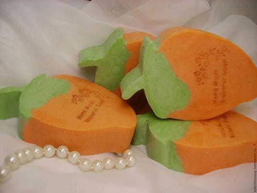 """Мыло ручной работы. Ярмарка Мастеров - ручная работа. Купить Мыло с нуля """"Персиковая мечта"""" с персиковым маслом. Handmade. Коралловый"""
