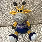 Куклы и игрушки ручной работы. Ярмарка Мастеров - ручная работа Жираф Ральф. Handmade.