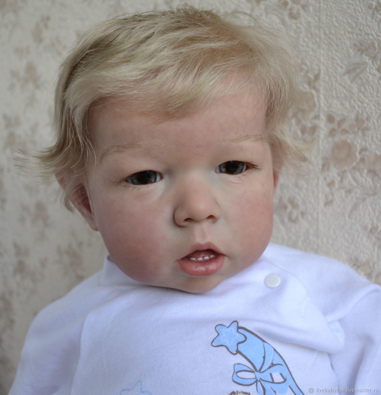 Baby Dolls & Reborn Toys handmade Livemaster handmade Buy Reborn baby doll Liam