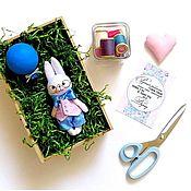 Куклы и игрушки ручной работы. Ярмарка Мастеров - ручная работа Зайчик с шариком. Handmade.