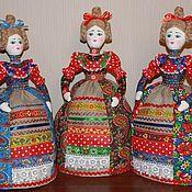 Куклы и игрушки ручной работы. Ярмарка Мастеров - ручная работа Кукла на чайник. Handmade.