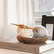 Материалы для творчества handmade. Livemaster - original item Wooden crochet hook made of cherry wood 4 mm. K294. Handmade.