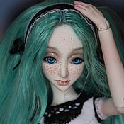 Шарнирная кукла ручной работы. Ярмарка Мастеров - ручная работа Шарнирная кукла Марла (BJD). Handmade.