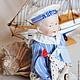 Винтажные куклы и игрушки. Заказать Антикварная кукла Мальчик-морячок. (Sailor boy). Мария Кудрина. Ярмарка Мастеров. Кукла моряк