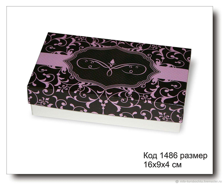1486 Коробочка для подарка 16х9х4 см, Коробки, Симферополь,  Фото №1