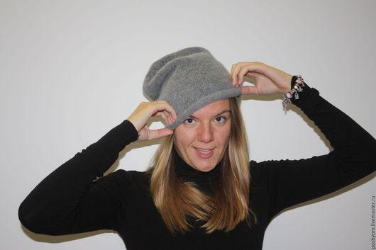 Шапки ручной работы. Ярмарка Мастеров - ручная работа. Купить Шерстяная шапка Чулок. Handmade. Комбинированный, модный головной убор