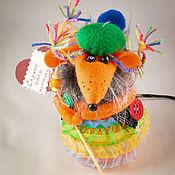 """Мягкие игрушки ручной работы. Ярмарка Мастеров - ручная работа Мышка"""" Скучно быть нормальной """". Handmade."""
