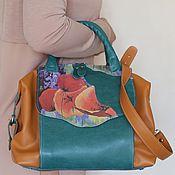 """Кожаная сумка """"Flores"""""""
