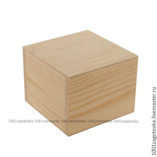 Декупаж и роспись ручной работы. Ярмарка Мастеров - ручная работа. Купить 705-4 Заготовка коробки из дерева для росписи. Handmade.
