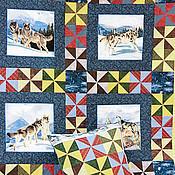 """Для дома и интерьера ручной работы. Ярмарка Мастеров - ручная работа Лоскутное одеяло """"Стая"""". Handmade."""