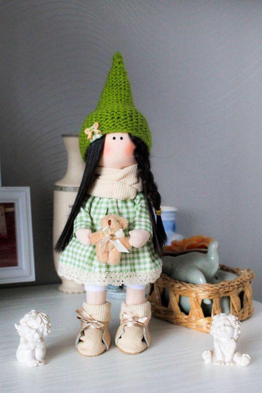 Коллекционные куклы ручной работы. Ярмарка Мастеров - ручная работа. Купить Интерьерная кукла Гномик. Handmade. Кукла ручной работы