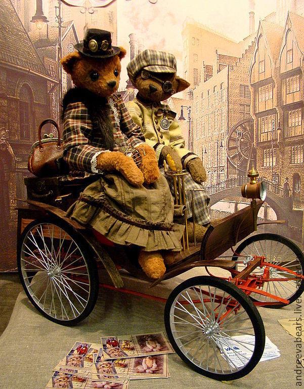 Teddy Animals: ' The twentieth century begins', Teddy Toys, Moscow,  Фото №1