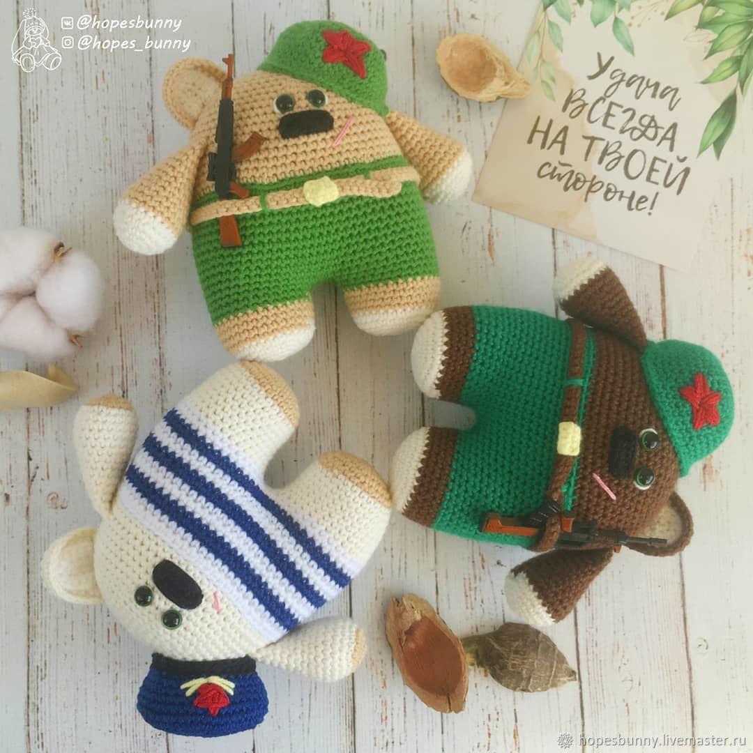 Мишка - солдат, Мягкие игрушки, Дзержинск,  Фото №1