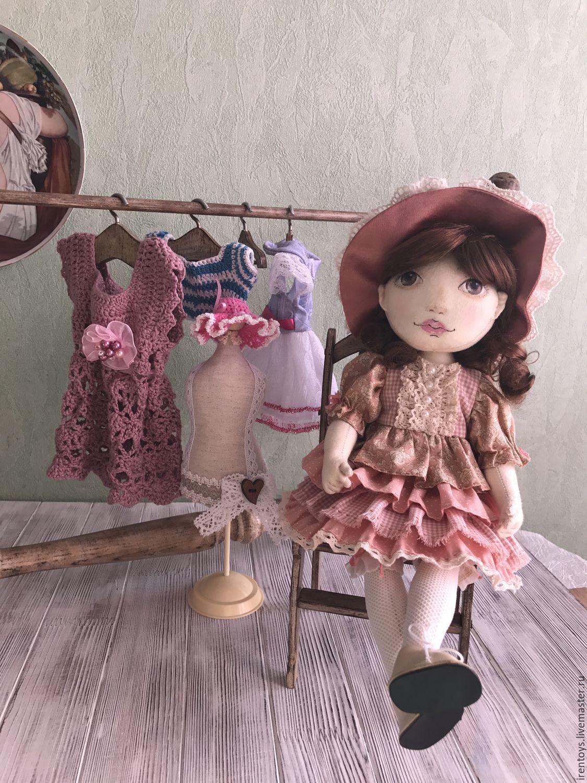 Коллекционные куклы ручной работы. Ярмарка Мастеров - ручная работа. Купить Адель. (текстильная шарнирная кукла). Handmade. Коллекционная кукла