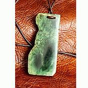 Украшения handmade. Livemaster - original item MARMOT. Greenstone pendant. Handmade.