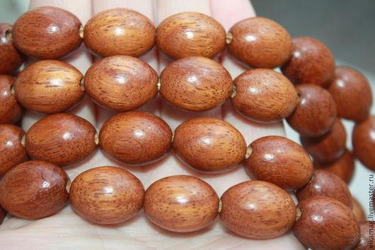 Для украшений ручной работы. Ярмарка Мастеров - ручная работа. Купить Байонг,  крупные овальные бусины, 20 мм ОСТАТОК 1 ШТ. Handmade.
